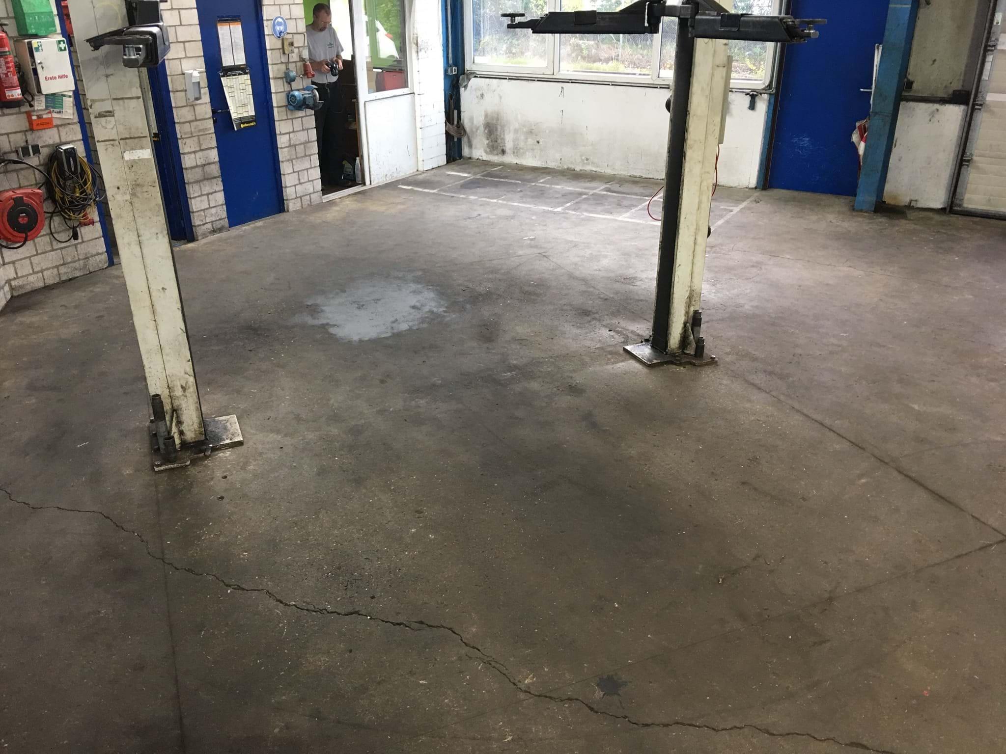 Fußboden Werkstatt ~ Sie benötigen einen sofort belastbaren werkstattboden